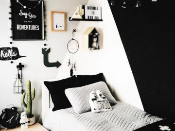 Awesome & Stylish Scandinavian Kids Room Design and Decor
