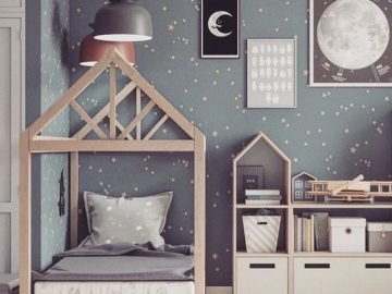 CREATIVE COOL KIDS ROOM