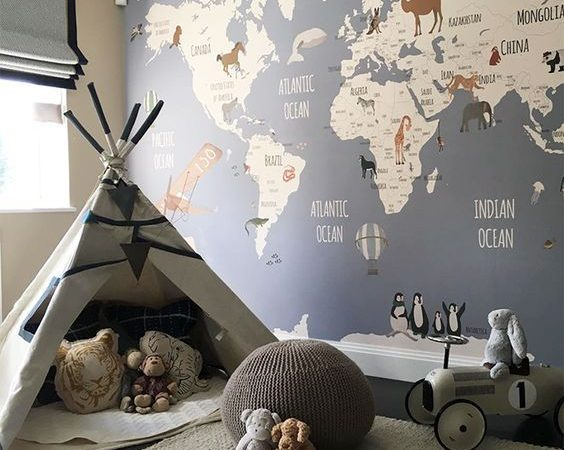 Fascinating Kid's Playroom Decorating Ideas to Help Your Child Learn