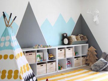 I SPY DIY DESIGN | Kid's Colorful Camp Playroom (I Spy DIY)