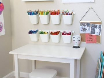 Pretty in Pastels Playroom - pickndecor.com/furniture
