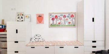 STUVA IKEA UNIT KIDS ROOM STORAGE / PLAY ROOM DESIGN: C4D STYLING