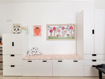STUVA IKEA UNIT KIDS ROOM STORAGE / PLAY ROOM DESIGN: C4D STYLING