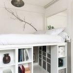 bedroom storage ikea hacks platform beds