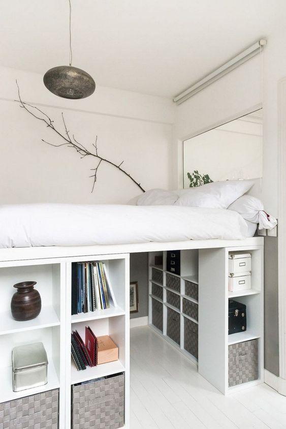 Bedroom Storage Ikea Hacks Platform Beds The Kids Room,How To Decorate A Wall Shelf